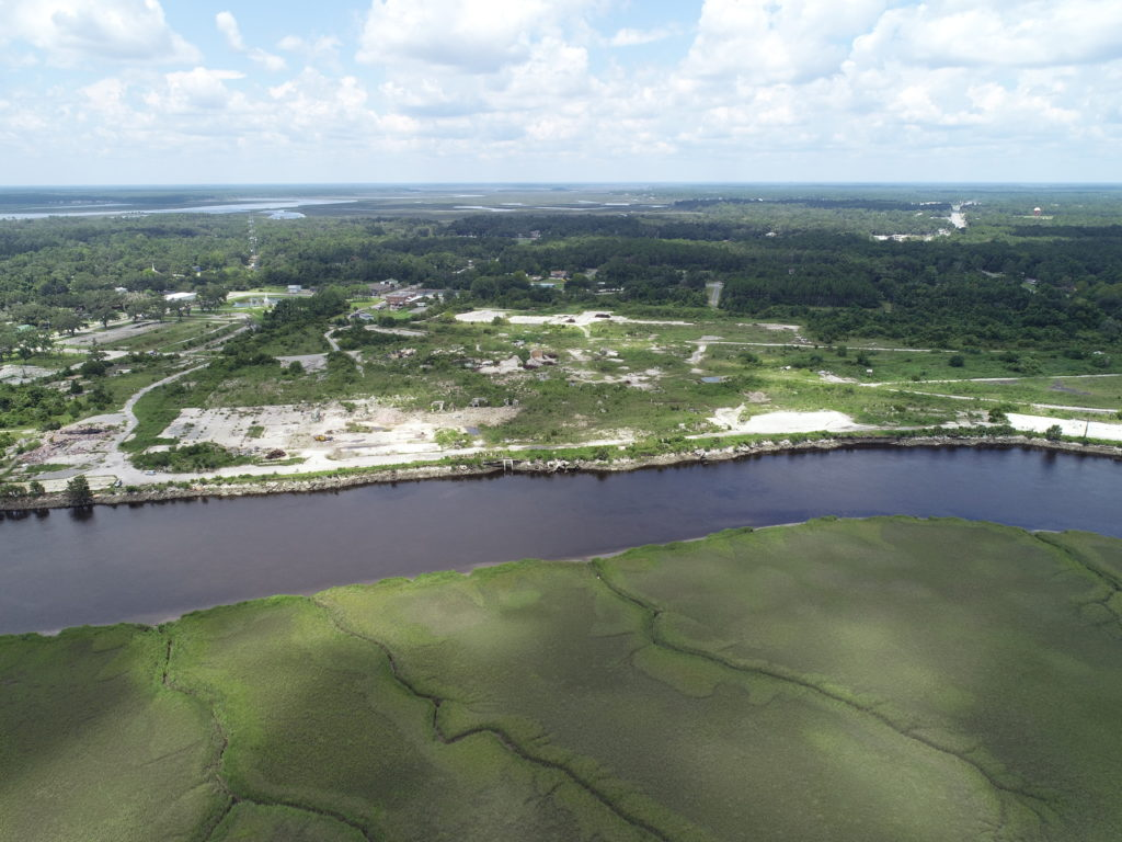 721 Acres Of Waterfront Ga Land Former Durango Paper